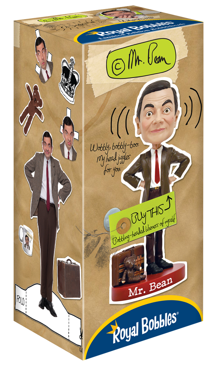 Mr Bean Bobblehead Royal Bobbles Bobbleheads And Collectible Figurines