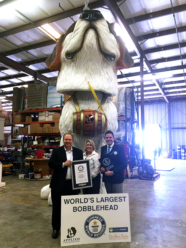 World's Largest Bobblehead