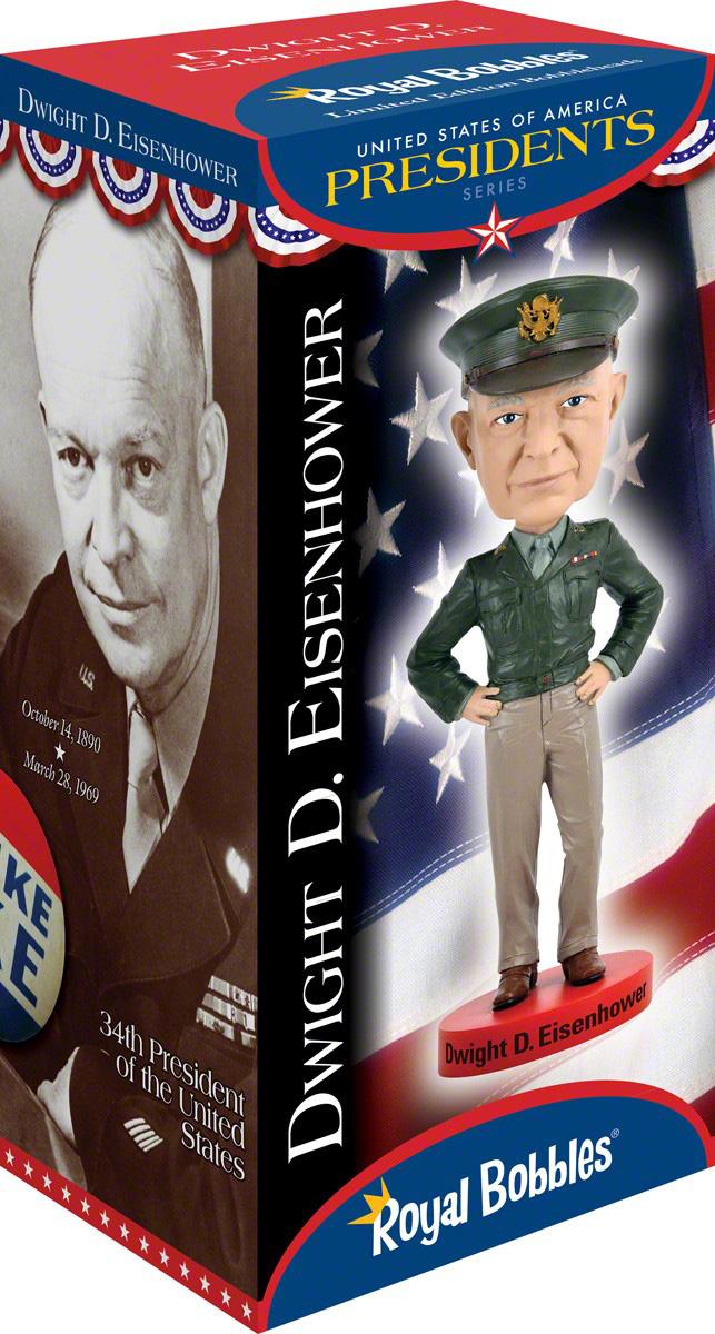 Dwight D. Eisenhower v2 Bobblehead Box