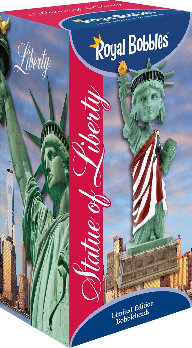 Statue of Liberty American Flag version