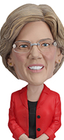 Elizabeth Warren Bobblehead