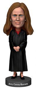 Supreme Court Justice Amy Coney Barrett Bobblehead by Royal Bobbles